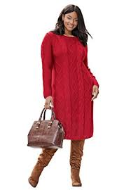 plus sweater dress s plus size cable knit sweater dress at