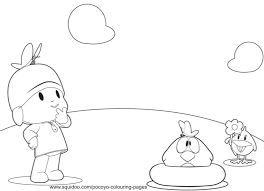 pocoyo coloring pages print coloring