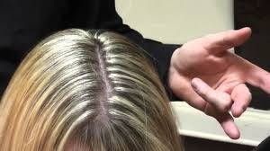 highlighting fine hair online hair school learn to foil highlight hair in 10 mins youtube