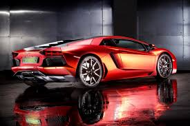 blue galaxy lamborghini lamborghini aventador matte orange red chrome wrap will cost you