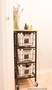 Walmart Bathroom Storage New Rolling Storage Cart And Bhg Products At Walmart Giveaway