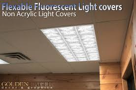 Drop Ceiling Lighting Glass Tiles Drop Ceiling Fluorescent Decorative