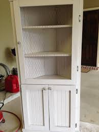 how to build an corner cabinet diy corner hutch the sweet