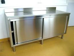 meuble cuisine en inox meuble de cuisine avec evier inox meuble de