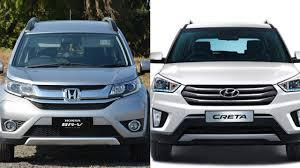 honda car comparison honda br v vs hyundai creta comparison