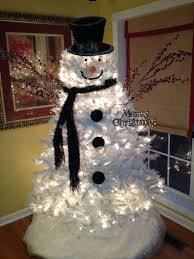 Fully Decorated Christmas Trees For Sale by Snowman Christmas Tree Ideas Christmas Trees U0026 Ideas For