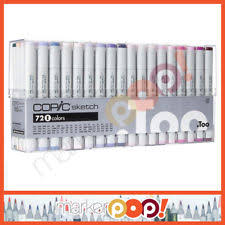 copic 72pc sketch set e alcohol markers s72e too ebay