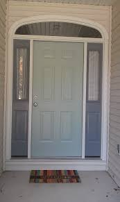 Front Door Colors For Gray House Our New Front Door Colors Benjamin Moore Wythe Blue And Shaker