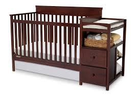 Delta Convertible Crib by Delta 4 In 1 Crib With Changing Table Instructions Gallery Of Table