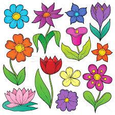 fiori disegni fiore 盞 disegni 盞 set 盞 fiori 盞 primavera 盞 natura illustrazione