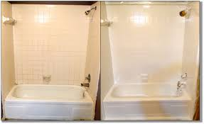 Paint Bathroom by Painting Bathroom Tiles Before And After