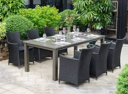 alexis table 6 monza chairs patio dining set