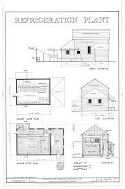 Elevation Floor Plan File Refrigeration Plant North Elevation Second Floor Plan East