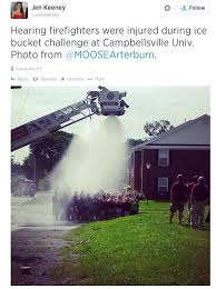 Challenge Goes Wrong Firefighters Seriously Injured After Als Challenge