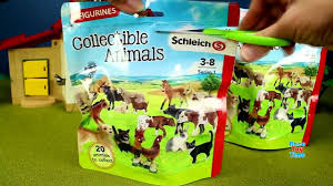 Toy Barn With Farm Animals Country Barn Farm Animals With Schleich Animal Toys Collection For