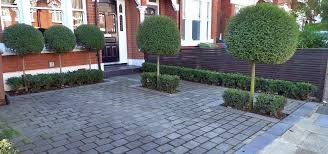 Paved Garden Design Ideas Marvelous Small Driveway Ideas At Front Landscaping