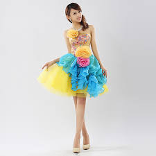 bright colored party dresses prom dresses cheap