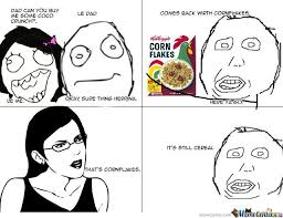 Corn Flakes Meme - cornflakes by friendship meme center