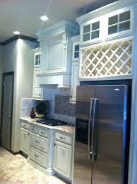 wine rack wine rack above refrigerator wine rack above