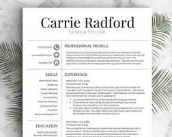 Two Page Resume Sample by Teacher Resume Template For Word U0026 Pages 1 3 Page Resume For