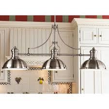 Brushed Nickel Kitchen Island Lighting 50 Best Lighting Kitchen Island Images On Pinterest Kitchen