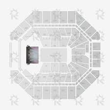 San Jose Convention Center Floor Plan At U0026t Center Concerts End Stage With Ga Pit Seating Charts