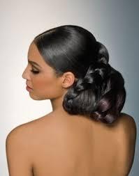 coiffure mariage africaine coiffures de mariée avec tresses blacknwed wedding magazine