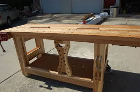 Woodworking Bench Top Surface by Hybrid Split Top Workbench Re Visited U2022 By Tyvekboy
