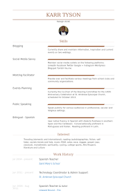 Sample Resume For Bilingual Teacher by Spanish Teacher Resume Samples Visualcv Resume Samples Database