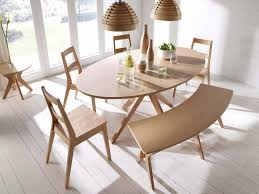 Dining Tables Oval Malmo Oval White Solid Oak Veneer Dining Table Free Delivery