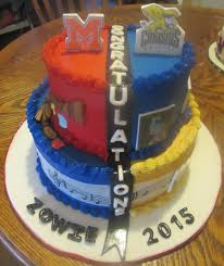 high college graduation cake on cake central frosted