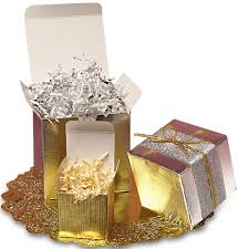 gold foil gift boxes metallic gift boxes tuck top boxes from paper mart