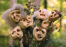 Halloween Head In A Jar Make Dried Apple Heads Hgtv