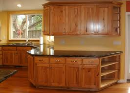 Hickory Kitchen Cabinets Travertine Countertops Rustic Hickory Kitchen Cabinets Lighting