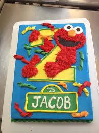 elmo birthday cakes sesame cake topper set search birthday