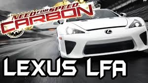 lexus lfa tires nfs carbon mod lexus lfa youtube
