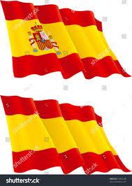 spanish flag vector flag spain isolated stock vector 73032148