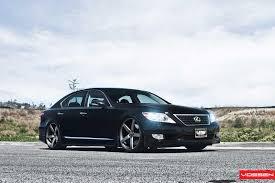 lexus ls on vossen vossen wheels lexus ls vossen cv3r