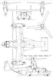 bell boeing v 22 osprey blueprint download free blueprint for 3d