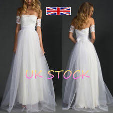 Wedding Dress Elegant Wedding Dresses Ebay