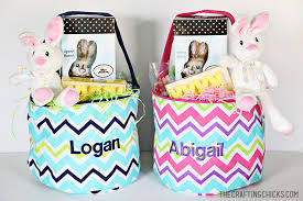 personalized basket a personalized easter basket