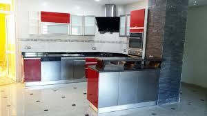 cuisine avec bar cuisine moderne métal avec mini bar tlemcen cuisine