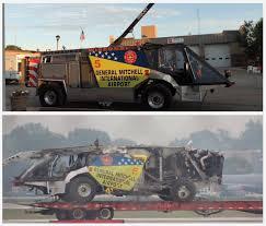 fire truck photos milwaukee airport crash rescue vehicle turns