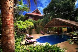 7 bedroom sea front villa koh phangan villas for rent in ko