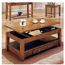 Wood Coffee Table With Storage Lift Top Coffee Table In Cherry Finish With Storage
