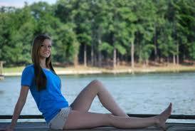 new free photo at avopix com woman wearing blue t shirt and