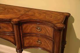 Sideboard Dining Room Narrow Mahogany Sideboard For Dining Room Great Console Table