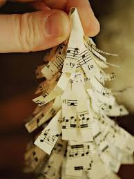 how to make sheet music christmas trees easy crafts and homemade