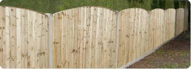 Types Of Garden Fences - main types of garden fence panels in parbold