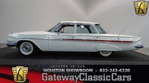 680 hou 1961 chevrolet impala gateway classic cars houston youtube